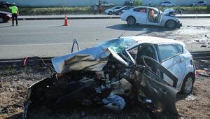 Elmadağda trafik kazası