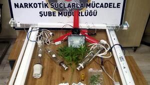 Uyuşturucu madde ve sahte parayla yakalandı