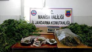 Sarıgölde baba- oğul uyuşturucudan gözaltına alındı