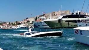 Batığa çarpıp, su alan yatın kaptanı ve 5 kişiyi Sahil Güvenlik kurtardı