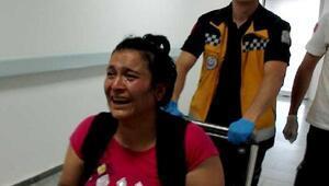 Can balkonda düşüp yaralandı, annesi Benim yüzümden oldu diye ağladı