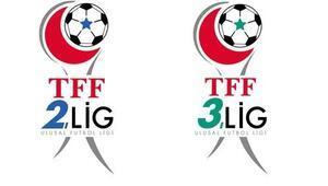 TFF 2 ve 3. Ligde grup kuraları yarın çekilecek
