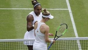 Serena Riske etti ama kazandı