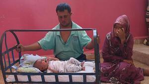 Suriyede mucize bebek yardım bekliyor
