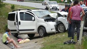 Kocaelide feci kaza: 3ü çocuk, 6 yaralı
