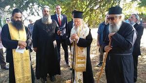 Şarköydeki manastıra ilk kez metropolit atandı, Bartholomeos ayini yönetti
