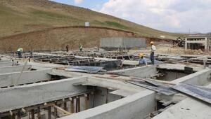 Yüksekovada bölgenin en büyük arıtma tesisi kuruluyor