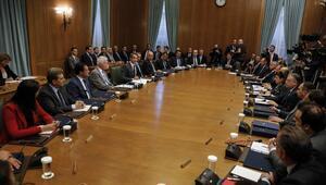 Yunanistanda yeni kabine ilk kez toplandı