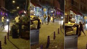 Kadıköy'de ortalığı birbirine katmıştı Yakalandı...