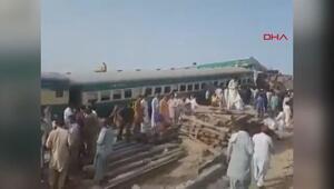 Pakistanda iki tren çarpıştı 11 ölü, 67 yaralı