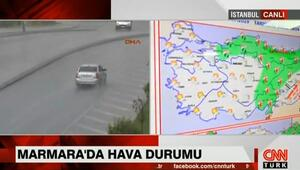 Şiddetli yağış İstanbulu ne zaman terk edecek