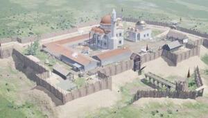 Kanuni Sultan Süleymanın mezarı çevresinde Osmanlı kasabasının kalıntıları bulundu