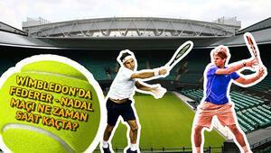 Wimbledon 2019da Nadal Federer maçı ne zaman saat kaçta hangi kanalda
