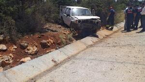 Konyada kaza: 1 ölü, 1 yaralı
