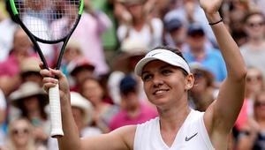 Wimbledonda ilk finalist Halep