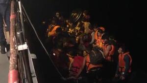 Ayvalıkta 114 kaçak göçmen yakalandı