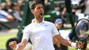 Wimbledonda ilk finalist Novak Djokovic