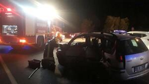 Denizlideki kazada yaralanan anne ve kızı hastanede öldü