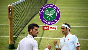 Wimbledon Finali MBS1 Djokovic-Federer maçının iddaada favorisi...