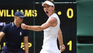 Wimbledonda şampiyon Simona Halep