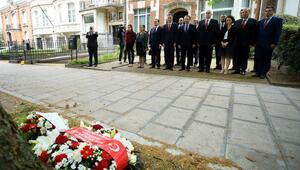 Şehit diplomat Dursun Aksoy Brükselde anıldı