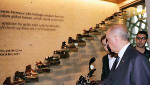 Erdoğan 15 Temmuz Hafıza Müzesini gezdi