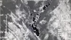 Edirnede sahil güvenlik uçağı ile tespit edilen 40 kaçak yakalandı