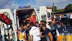 Kulada kavşakta TIR otomobil ile çarpıştı: 1 ölü, 2 yaralı