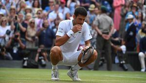 Djokovic: Çimleri yedim, çok lezzetliydi