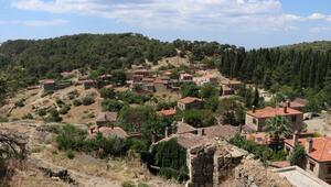 Kazdağlarının otantik köyünden turist eksik olmuyor
