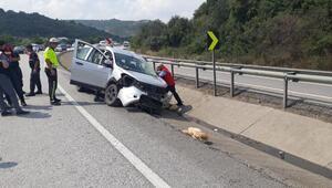 Köy ekmeği satmaya giderken kazada öldü