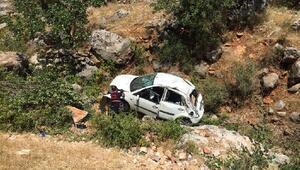 Adıyamanda trafik kazası: 2 yaralı