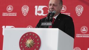 Cumhurbaşkanı Erdoğan, Ankara Emniyet Müdürlüğü Yeni Binası Açılış Törenine katıldı