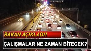 Fatih Sultan Mehmet Köprüsündeki (FSM) çalışmaları ne zaman bitecek Bakan açıkladı