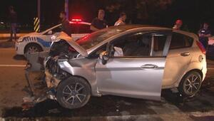 Pendikde otomobil servis minibüsüne arkadan çarptı: 1 ölü
