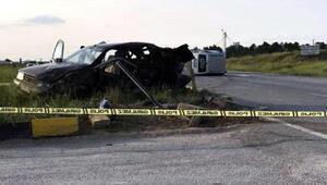 Eskişehirde kaza: 3 ölü, 6 yaralı