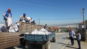 Hisarcıkta 713 ton kömür dağıtıldı