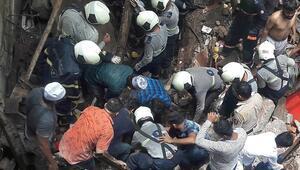 Hindistanda bina çöktü