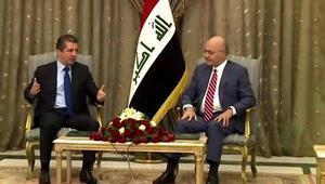 IKBY Başbakanı Barzaniden Bağdata ilk resmi ziyaret