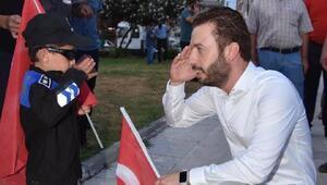 Başkan Aydar 15 Temmuz Demokrasi ve Milli Birlik Günü etkinliklerine katıldı