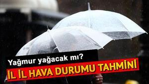 Yarın yağmur yağacak mı Meteorolojiden 17 Temmuz açıklaması