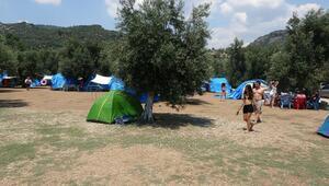 Kuzey Egede tatilcilerin yeni gözdesi çadır kampları