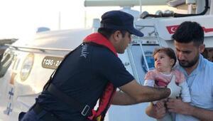 Çeşme açıklarında 39 kaçak göçmen yakalandı