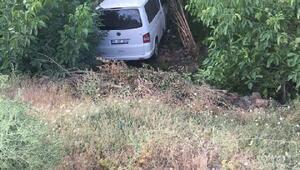 Bingölde minibüs şarampole yuvarlandı: 5 yaralı