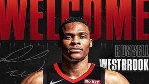 Russell Westbrook resmen Houston Rocketsta