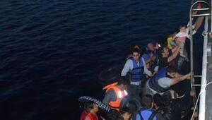 Ayvalıkta 40kaçak göçmen yakalandı