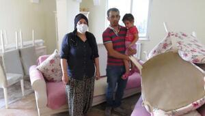 Ümraniyede İSKİnin çalışması sırasında evleri atık su bastı