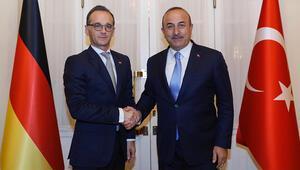 Son dakika... Dışişleri Bakanı Çavuşoğlu, Alman mevkidaşıyla görüştü