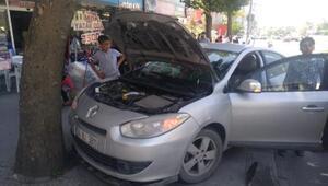 Arnavutköydeki kaza güvenlik kamerasında