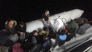 Datça açıklarında 21 kaçak göçmen yakalandı